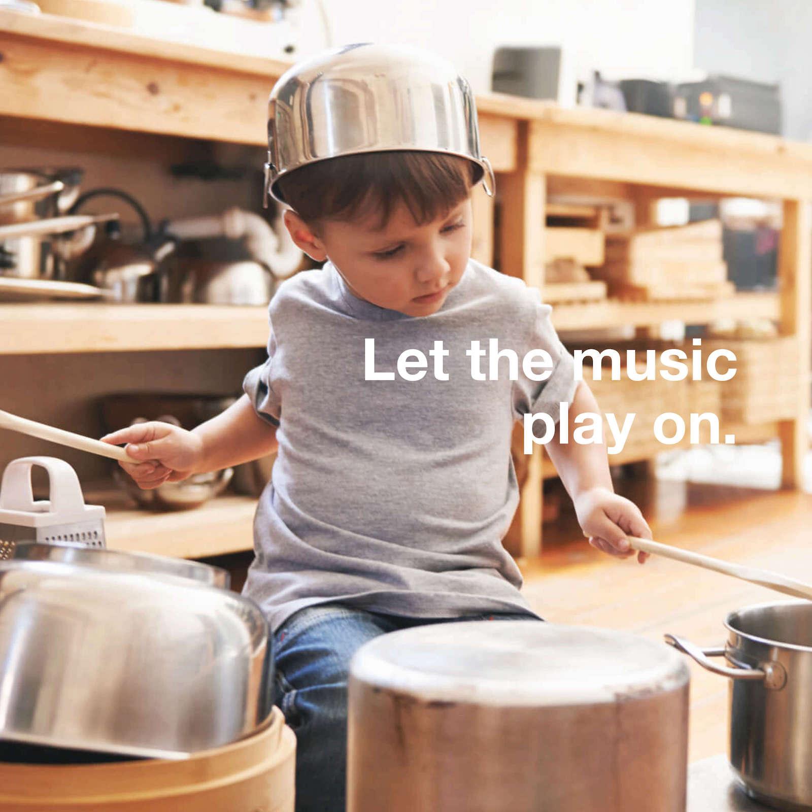 Musikalische Förderung von Kindern.